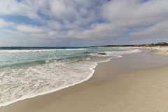 Sandy Asilomar Beach, verger Pacifique, la Californie Photo stock
