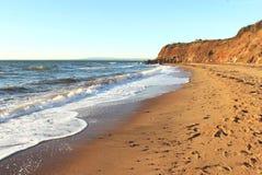 Sandy australian beach Royalty Free Stock Photo