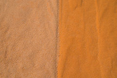 Sandy background two colors Royalty Free Stock Image