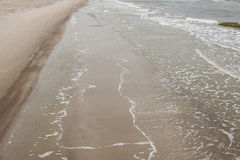 Sandy Baltic coast - Poland. Stock Photos