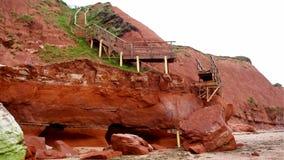 Sandy Bay - Devon stockbilder