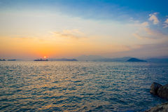 Sandy Bay, Hong Kong Royalty Free Stock Photography