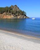 Sandy Bay no Lago Baikal Imagem de Stock