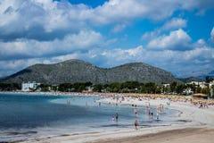 Sandy Beach stock afbeeldingen