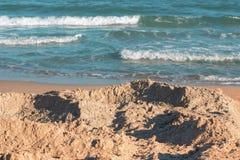 Sandy Beach Fotos de Stock
