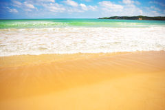 Sandy beach Royalty Free Stock Photos