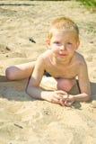 Sandy Beach Royalty-vrije Stock Afbeeldingen