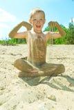 Sandy Beach Stockbild