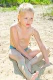 Sandy Beach Lizenzfreie Stockbilder