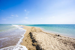 Sandy Beach Fotografia Stock Libera da Diritti
