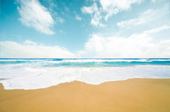 Sandy beach Royalty Free Stock Photo