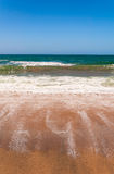 Sandy Beach in Australia Stock Image