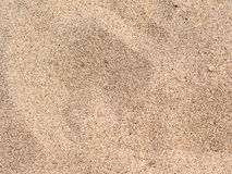 Sandy beach background. With coarse sand Royalty Free Stock Photography