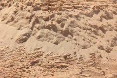 Sandy beach background. Desert sand stock images