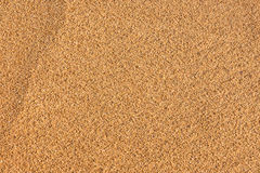 Sandy beach background and detailed sand texture. Stock Photo
