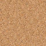 Sandy Beach Background. Sömlös textur. Royaltyfri Foto