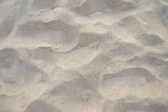 Sandy beach for background.Sand texture.  Top view Royalty Free Stock Photos