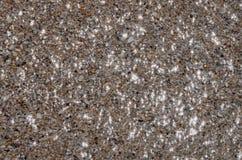 Background. Sandy beach. Summer, sea, sun, beach, fine sand, water and stars Stock Photos