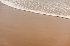 Sandy beach background Stock Images