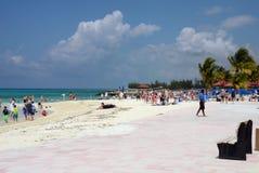 Sandy beach in the Bahamas Royalty Free Stock Photography