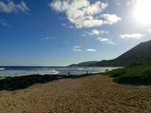 Sandy Beach. Beautiful afternoon at Sandy beach royalty free stock photography