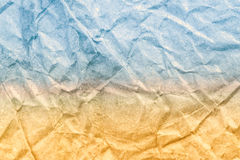 Sandy beach and blue sea vintage paper texture. Abstract Summer. Sand beach and blue sea vintage paper texture. Abstract Summer background Royalty Free Stock Image