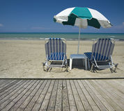 Sandy Beach bonito Imagens de Stock