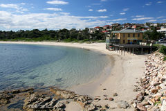 Sandy Beach - Botany Bay, Sydney, Australia Royalty Free Stock Photography