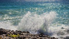 Sandy beach and coastline Royalty Free Stock Photo