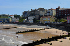 Sandy Beach, Cromer, Norfolk, England Royalty Free Stock Images