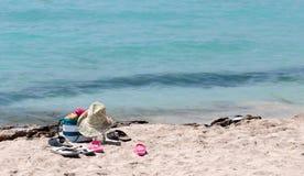 Sandy Beach, Cyprus Stock Photography