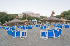 Sandy Beach de Canyamel Imagens de Stock Royalty Free