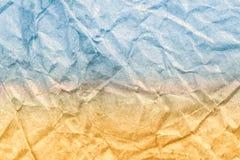 Sandy Beach e textura azul do papel do vintage do mar Verão abstrato Imagem de Stock Royalty Free