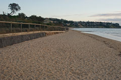 Sandy beach at Frankston Stock Photos