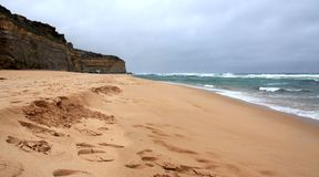 The Great Ocean Road beach - Australia Royalty Free Stock Photography