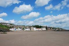 Sandy Beach at Kinghorn Royalty Free Stock Image