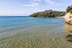 Sandy beach in Lazio, Italy Royalty Free Stock Images