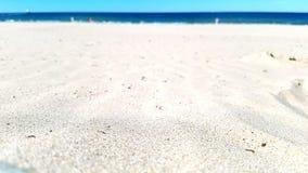 Sandy beach. Ludington lake Michigan Royalty Free Stock Photos