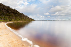 Sandy Beach Near Walpole Royalty Free Stock Photography