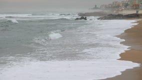 Sandy Beach nel Portogallo archivi video