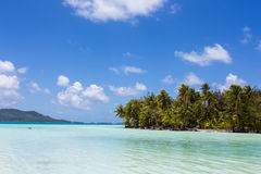Sandy beach in paradise Royalty Free Stock Image