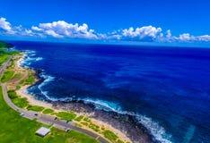 Sandy Beach Park Hawaii Fotografering för Bildbyråer