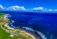 Sandy Beach Park Hawaii Stock Image
