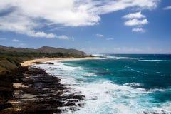 Sandy Beach Park, Oahu imagenes de archivo