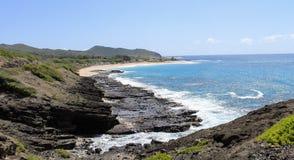 Sandy Beach Park - Oahu Immagine Stock