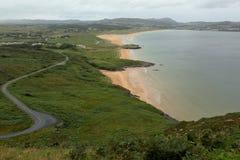 The sandy beach of Portsalon Royalty Free Stock Image