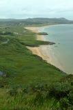 The sandy beach of Portsalon Stock Photos