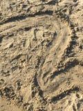 Sandy beach, Punta Ala, Tuscany, Italy Stock Photography