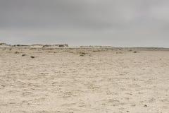 Sandy beach on Romo Island - Denmark Royalty Free Stock Image