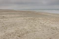 Sandy beach on Romo Island - Denmark Royalty Free Stock Images